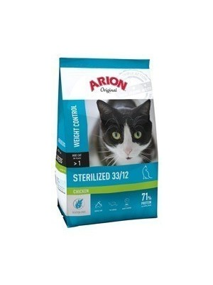 Arion Original Sterilized Chicken Weight Control 33/12