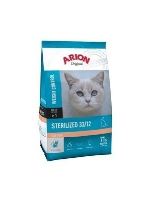 Arion Original Sterilized Salmon Weight Control 33/12