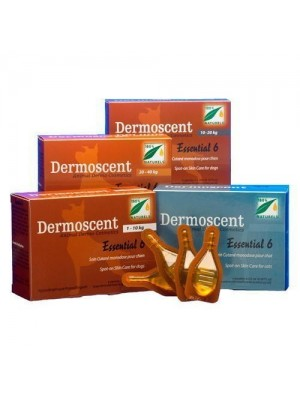 Dermoscent essential 6 Spot on 4 pipetas perros 20-40kg
