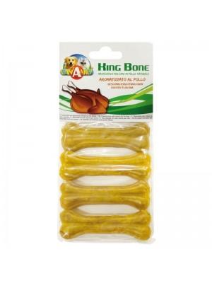 Bolsa de 4 huesos King Bone sabor Pollo 10cm